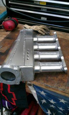 Custom Mazda Miata Turbo Intake Manifold by rpracingproducts.com