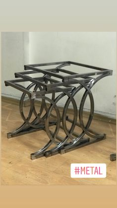 Image gallery – Page 473229873341741759 – Artofit Welded Furniture, Car Furniture, Iron Furniture, Steel Furniture, Unique Furniture, Industrial Furniture, Furniture Design, Metal Table Legs, Metal Dining Table