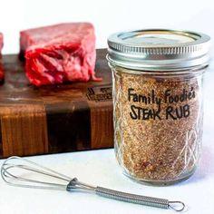 Best Dry Rub for Steak | Sunday Supper Movement Dry Rub For Steak, Dry Rub For Chicken, Bbq Dry Rub, Garlic Steak Marinade Recipe, Bbq Rub Recipe, Steak Rubs, Dry Rub Recipes, Beef Skewers, Side Dishes For Bbq