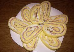 Sonkás-tojásos sajt tekercs
