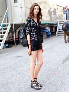 NYFW Model Street Style: Manon Leloup