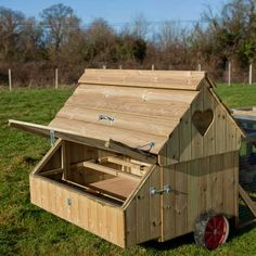 Nestboxes of Ranger 10 Mobile Chicken Coop