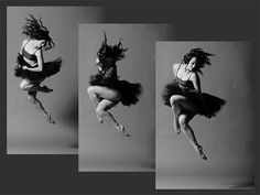 4. Freezing motion. Multiple images - Photo by Chris Peddecord