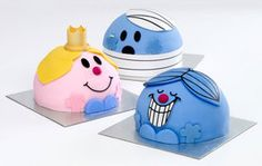 Mr Men and Little Miss cakes