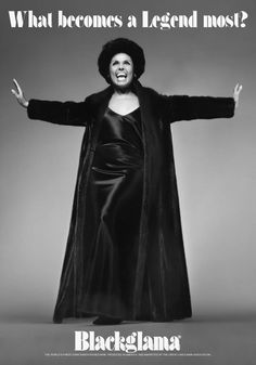 "Lena Horne Blackglama's ""What becomes a Legend most?"" ad campaign, 1969."