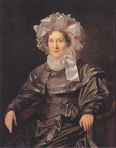 Elisabeth Waldmüller, the artist's mother, 1830 (Ferdinand Georg Waldmüller) (1793-1865) Österreichische Galerie Belvedere, Wien