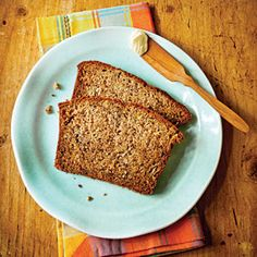 Nana's Banana Bread | Using banana chunks and a hint of lime juice bring out a wonderfully fresh fruity taste in this pillowy-soft quick bread | SouthernLiving.com