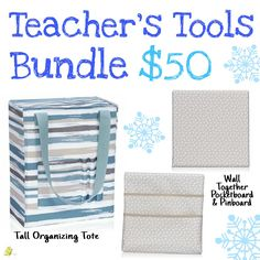 Wall Together Pinboard$20,  Wall Together Pocket Board $20, Tall Organizing Tote (January 2017 Special) $10. www.mythirtyone.com/lesleyrobinson