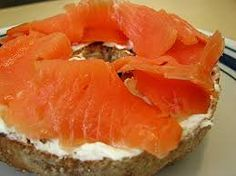 Smoked Salmon n Cream Cheese Cheese Bagels, Healthy Breakfast For Weight Loss, Smoked Salmon, Food Cravings, Yummy Food, Healthy Breakfasts, Fish, Cooking, Ethnic Recipes