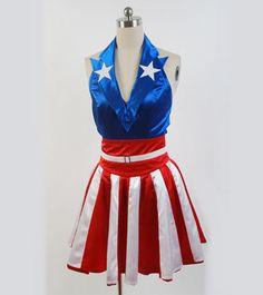 Womens Cheerleader Halloween Costume