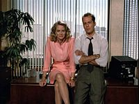 Moonlighting. Loved that show ... before she and David and, I think Mark Harmon started going crazy. Before the baby and stuff. Loved the shakespeare and it's a wonderful life episodes the best.