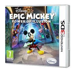 Disney Epic Mickey 2 - Power of illusion sur Nintendo 3DS - Fnac.com - Jeux vidéo