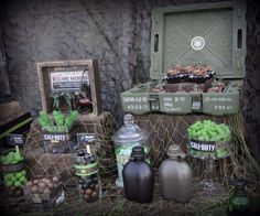 Call of Duty Military Birthday Party Ideas | Photo 9 of 11
