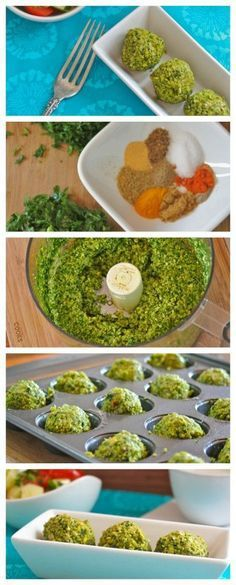 Baked Herbed Falafel - How about making home made baked falafel for your next Super Bowl party, get together or just something new for your Meatless Monday dinner. These falafel balls are guilt free, (Baking Eggplant Meatless Monday) Vegan Gluten Free, Gluten Free Recipes, Vegan Vegetarian, Vegetarian Recipes, Healthy Recipes, Paleo, Keto Recipes, Veggie Recipes, Whole Food Recipes