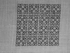 All Blackwork or Spanish Blackwork designs, filler and borders