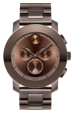 c801e529414 Love the Movado  Large Bold Chronograph  Bracelet Watch on Wantering.