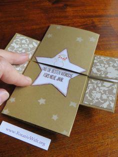 weihnachtliche Endloskarte