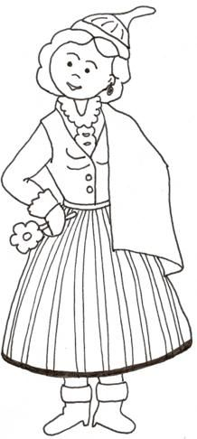Trajes Tipicos Portugueses para colorir - Brinquedos de Papel Kids Study, Art For Kids, Black And White Prints, Spain And Portugal, Craft Activities For Kids, Colouring Pages, Art Education, Adult Coloring, Paper Dolls