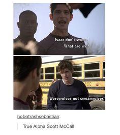 OMG #scottmccall #isaaclahey #teenwolf
