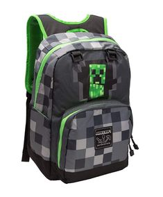 8ef18b1b3822 Details about JINX MOJANG MINECRAFT CREEPY CREEPER KIDS BACKPACK 17