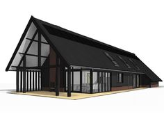 Prefab Homes, Cabin Homes, Barn House Conversion, Steel Framing, Modern Barn House, Modern Farmhouse Exterior, Forest House, Building A House, House Plans