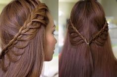 The Cascading Half-Up Princess Braids   23 Creative Braid Tutorials That Are Deceptively Easy