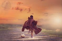 Children Photography Ideas. StarWars inspired. Photoshop composite photography