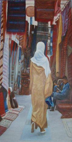Egipto Paseo por el Zoco