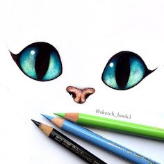 Meow – New drawing for you! I was actually drawing the Cheshire Cat but it ended… Meow – New drawing for you! I was actually drawing the Cheshire Cat but it ended up really cute without the teeth so I just kept it like this hehe – What do you think? Pencil Art Drawings, Art Drawings Sketches, Disney Drawings, Easy Drawings, Animal Drawings, Cat Eyes Drawing, Cheshire Cat Drawing, Cheshire Cat Tattoo, Cute Cat Drawing