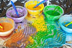 Scented sand paint recipe