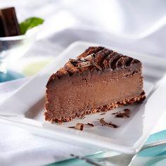 Eli's Cheesecake Belgian Chocolate Cheesecake #food #cake www.loveitsomuch.com