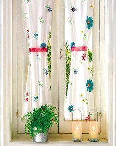 Cortinas inspiradoras para decorar a janela