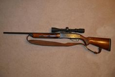 Remington Woodsmaster 30-06 our weapon of choice for Deer Hunting Auto's