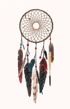 Loving this Dream Catcher Square Pillow on Dream Catcher Drawing, Dream Catcher Tattoo, Dreamcatcher Wallpaper, Whatsapp Wallpaper, Geniale Tattoos, Le Far West, Grafik Design, Cute Wallpapers, Wallpapers Ipad