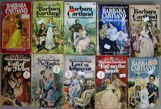 Vintage+Collection+of+60+Barbara+Cartland+Romance+Paperback+Books+