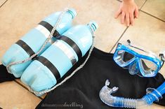 DIY Scuba Diver Halloween Costume - Delineate Your Dwelling