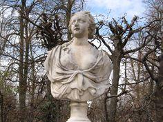 Büste im Park Sanssouci in Potsdam
