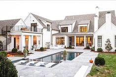My dream home, dream homes, big houses exterior, exterior windows, drea