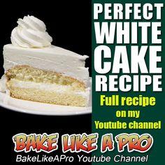 EASY PERFECT WHITE CAKE RECIPE ►►► CLICK PICTURE for video recipe
