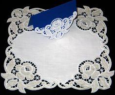 Advanced Embroidery Designs - Cutwork Lace Rose Corner