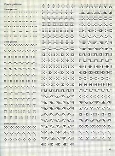 Alice Starmore Book of Fair Isle Knitting — Яндекс. Cross Stitch Boarders, Cross Stitch Charts, Cross Stitch Designs, Cross Stitching, Cross Stitch Embroidery, Cross Stitch Patterns, Paper Embroidery, Embroidery Patterns, Fair Isle Knitting Patterns
