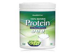 Health Viva 100% Natural Protein 400 g At Rs.599