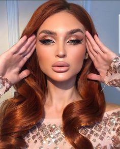 Peach Makeup, Glam Makeup, Bridal Makeup, Girls Makeup, Hair Makeup, Makeup Trends, Makeup Inspo, Makeup Inspiration, Makeup Eye Looks
