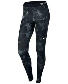 fab57e815 Nike Pro Warm Printed Leggings & Reviews - Pants & Capris - Women - Macy's