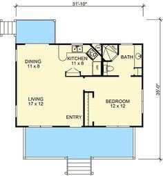 Economical Ranch - 46068HC | Architectural Designs - House Plans
