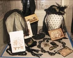 All Things Victorian: Victorian Things I Love... Mourning Remembrances