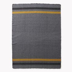 Foot Soldier Military Wool Blanket - Gray - Blankets