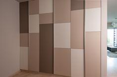 Apartament w Thespianie, Wrocław. Projekt i realizacja ArteCubo Wrocław. #wardrobe #pastels #colours #modern #interior #design #artecubo #wroclaw