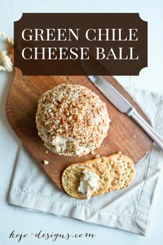 green chile cheeseball