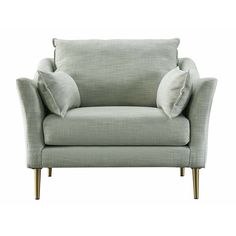Ivy Bronx Acanva Mid-Century Modern Armchair | Wayfair